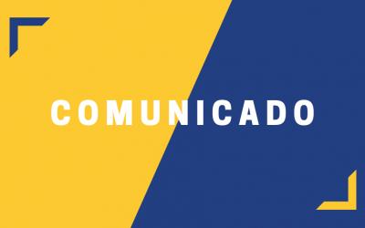 COMUNICADO VOLTA AS AULAS
