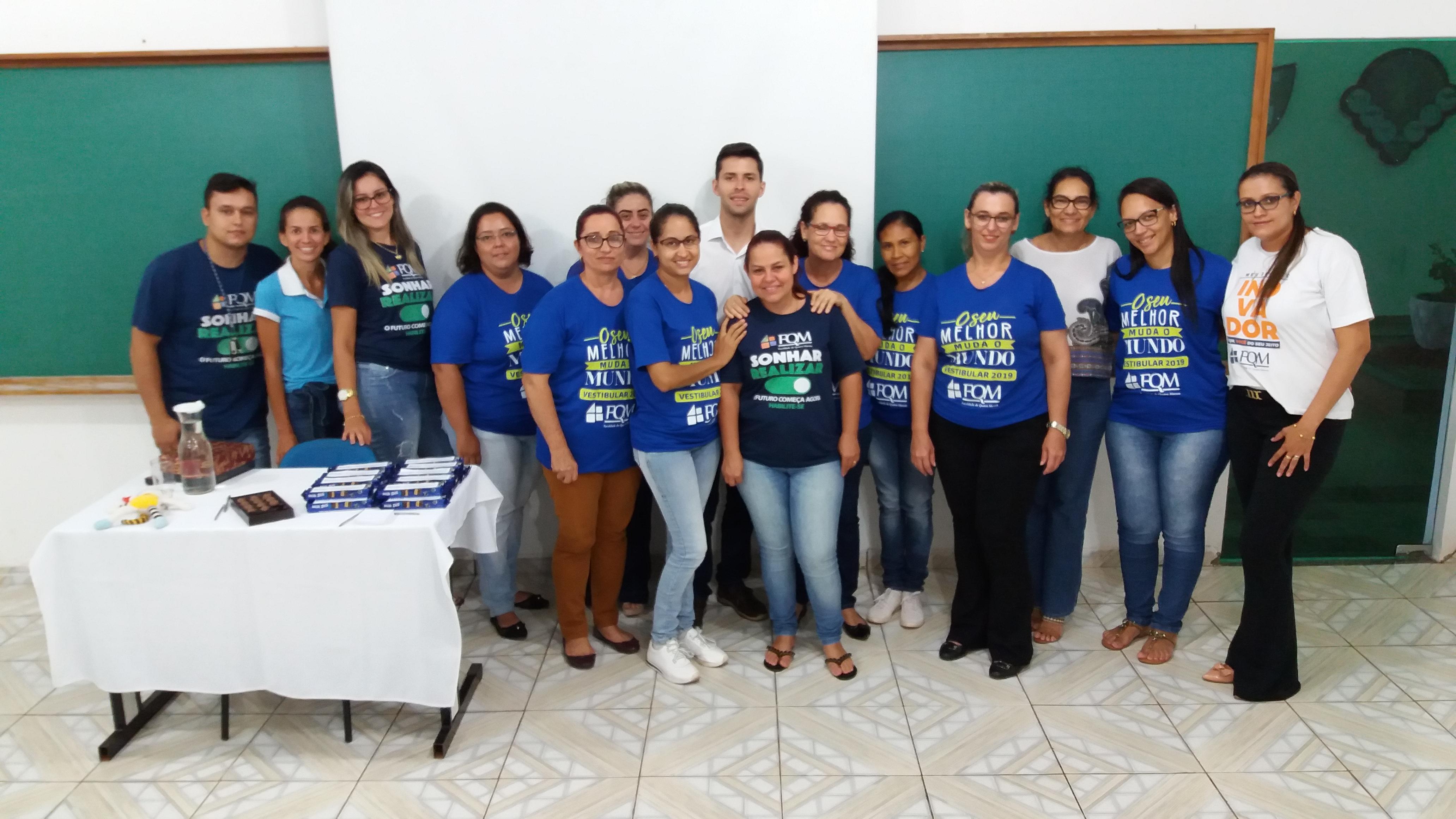 Direção Acadêmica promove palestra motivacional junto à Equipe Administrativa da FQM